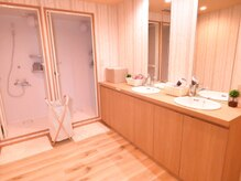 癒林 亀戸の雰囲気(シャワー室)