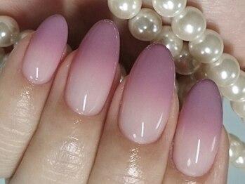マーキュリー(Mercury)/ピンクの綺麗めグラデーション