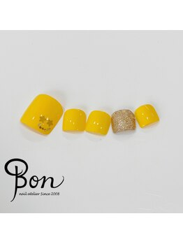 ネイルアトリエ ボン(nail atelier bon)/ビタミンカラー♪