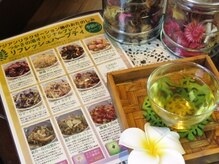 玉名温泉 つかさの湯の雰囲気(自然農法で育てられた当店オリジナルハーブティーをセレクト◎)