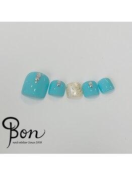 ネイルアトリエ ボン(nail atelier bon)/きれいめフットデザイン☆