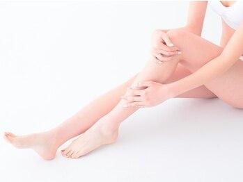 わたしのハイフ 難波店の写真/【セルフエステサロン】膝上+膝下のセット15000ショットで¥6980♪ヒップライン~太もも周りの脂肪を分解!