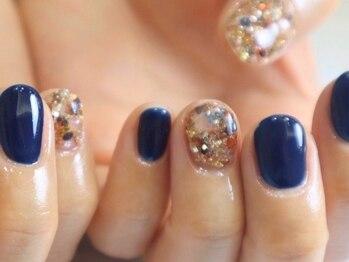 リノ ネイル(Rino nail)の写真/【爪を削らないパラジェル・シャイニージェル導入店!】短い爪に似合う可愛いデザイン多数♪