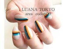 ルアナトウキョウ エリアコード 808(LUANA TOKYO area code 808)の雰囲気(美フォルムネイル/ミラーグラデーション)