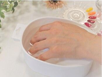 アオヤマ ミュー(AOYAMA μ)の写真/全コースウォーターケア付き◆爪の健康を第一に考えたオールハンドで丁寧なケアが魅力です。