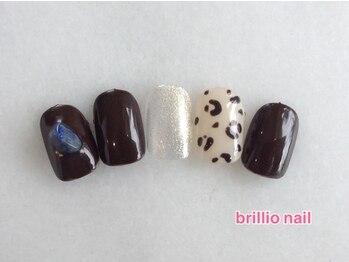 ブリリオ ネイル(brillio nail)/選べるアート/オフ込¥4900