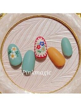ピンクマジック(PINKMAGIC)/マットコート仕上げ☆刺繍風