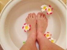 エステティックサロン ルーシェの雰囲気(足湯で血行を促進し疲労回復、心身共にリラックス~)