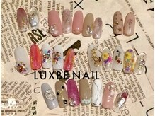 【NAIL】素敵な指先へのお手伝い* +°ヘアサロンLUXBEと併設の【LUXBE NAIL&EYELASH】