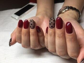 サンネイル(sunnail)/シースルードットネイル