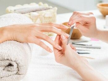 セレキュア(Private nail care salon Celecure)の写真/【ケア重視の本格サロン】爪の健康と仕上がりの美しさを考えたこだわりのハンドケア♪男性の方も大歓迎◎