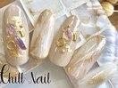定額プラチナコース 天然石nail
