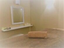 完全個室で清潔感のあるクリーム色のお部屋です!