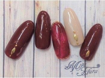 ミハフルーラ 与野(Home Nail Salon Mija Flura)/シンプル 5980円 O150S