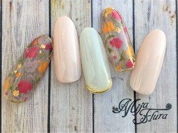 ホームネイルサロン 戸田 ミハ フルーラ(Home Nail Salon Mija Flura)/スタンダード¥6980 I24ST