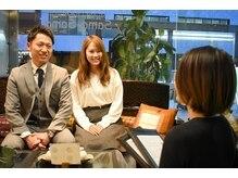 カップルでもOK!SamaSamaで一緒に過ごす極上タイム♪ボディケア&フットケア 60分¥5,550[ペア割 ¥5,050]