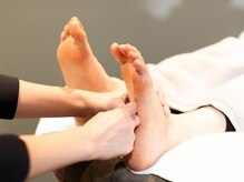 ヘッドスパ専門店 アモン 岡山(amon)の雰囲気(毎日頑張る身体に癒しを。心地よいフットマッサージ(女性のみ))