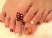 ネイルサロン ミュゲ(nail salon muguet)の雰囲気(足先までオシャレを楽しめます♪)