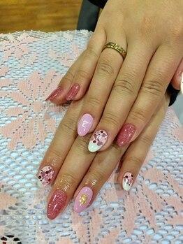 ネイルサロン アンジュ(Nail Salon Ange)/バレンタインネイル☆