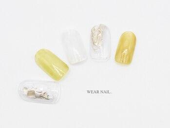 ウェアネイル(WEAR NAIL.)/大人メタリックアート¥8240