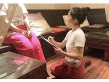 アジアンヒーリングリゾートサワン 神楽坂店 (Asian Healing Resort sawan)の雰囲気(肩、首、腰、背中、足、辛いところをしっかりチェック◎(^^))