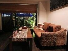 リラクゼーションサロン リフラスパ(Refla Spa)の雰囲気(南国の雰囲気漂う緑、ヒーリングミュージックはバリ島の雰囲気♪)