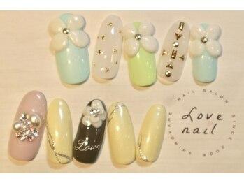 ラブネイル(LOVE NAIL)/定額12000円(w