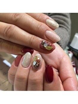 アンジェリーク ネイル(angelique nail)/ジェルネイルan-66☆¥9,460