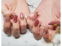 ネイルサロンブラン(nail salon BLANC)/マグネットとアクセサリーネイル