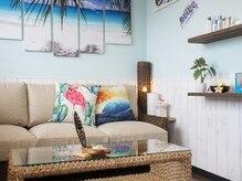 マハロ(MAHALO)の雰囲気(ハワイをイメージした空間でリゾート気分♪体と心を癒します!!)
