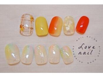 ラブネイル(LOVE NAIL)/定額7000円(q