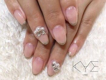 キーバイマグ(KYE by Mag)/ブライダルネイル☆
