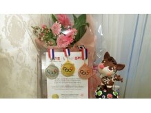韓国政府主催美容オリンピック。マツエク3部門でそれぞれ受賞。