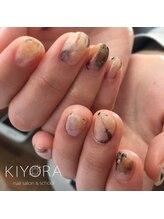 ネイルサロンキヨラ(KIYORA)/流行☆天然石ネイル