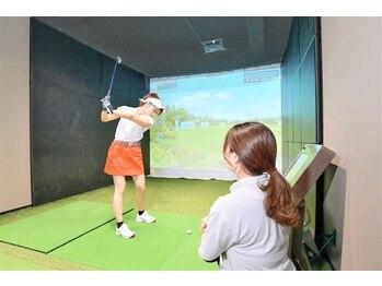 チキンゴルフ 新宿店(Chicken Golf)の写真/ゴルフ女子必見★ゴルフを上達しながら楽しくダイエット♪