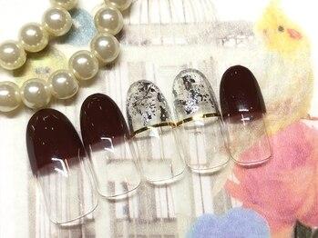 ネイルアンドアイラッシュ ブレス エスパル山形本店(BLESS)/個性派シンプルネイル!