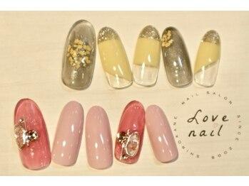 ラブネイル(LOVE NAIL)/定額7000円(x