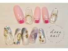ラブネイル(LOVE NAIL)/定額9000円(y