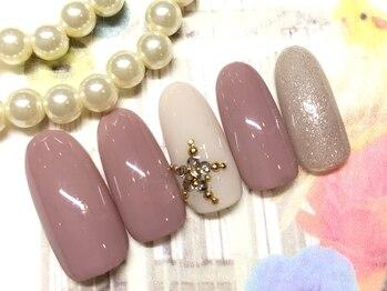 ネイルアンドアイラッシュ ブレス エスパル山形本店(BLESS)/キュートスター☆
