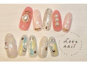 ラブネイル(LOVE NAIL)/定額12000円(x