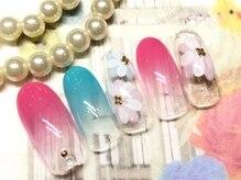 ネイルアンドアイラッシュ ブレス エスパル山形本店(BLESS)/フラワーアート!