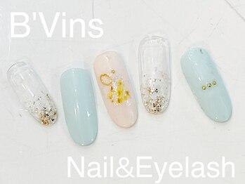 ビーヴァンス(B'Vins)/キャンペーンネイル★4990円