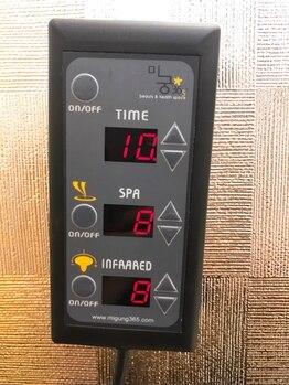 よもぎスタジオ/よもぎ蒸し温度調整