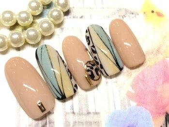 ネイルアンドアイラッシュ ブレス エスパル山形本店(BLESS)/個性派ネイル!