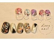 ラブネイル(LOVE NAIL)/定額12000円(s