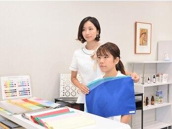 カナトス 京都の写真/160色のドレ-プを使用するパ-ソナルカラ-診断!!年齢を重ね似合う服,メイクが分からなくなった大人女性必見!