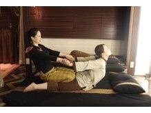 カヌン タイリラクゼーション(KANUN THAI RELAXATION)の雰囲気(普段使わない筋肉を伸ばし慢性疲労改善&爽快感がヤミツキに☆)
