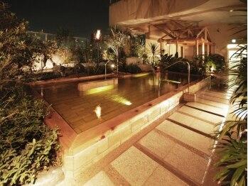 スパアンドホテル舞浜ユーラシア (SPA&HOTEL)/女性露天夜景
