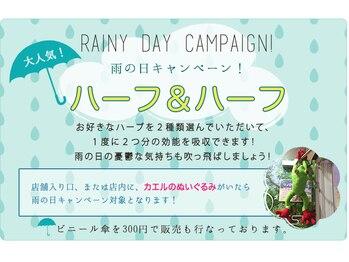 酸素カプセルサロン レディースサロン フォレスト 新宿西口店/雨の日キャンペーン