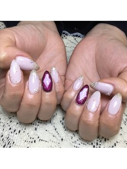 プライベートサロンアリュール(Private Salon Allure)/話題の宝石ネイル☆